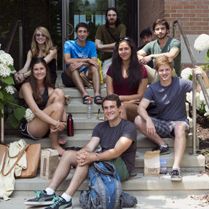 2014 REU Group Field Trip to CBG