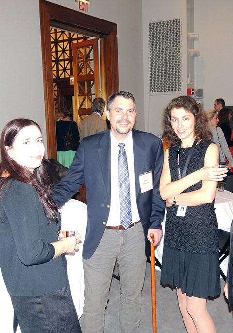 Dr. William Parkinson, Dr. Zlatina Kostov and Dr. Petranka Nedelcheva-Megalla