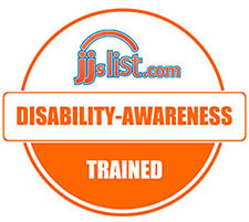 Disability-Awareness Trained logo from JJ's List