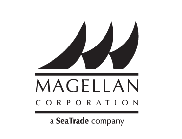 Magellan Corporation, a Sea Trade company, logo