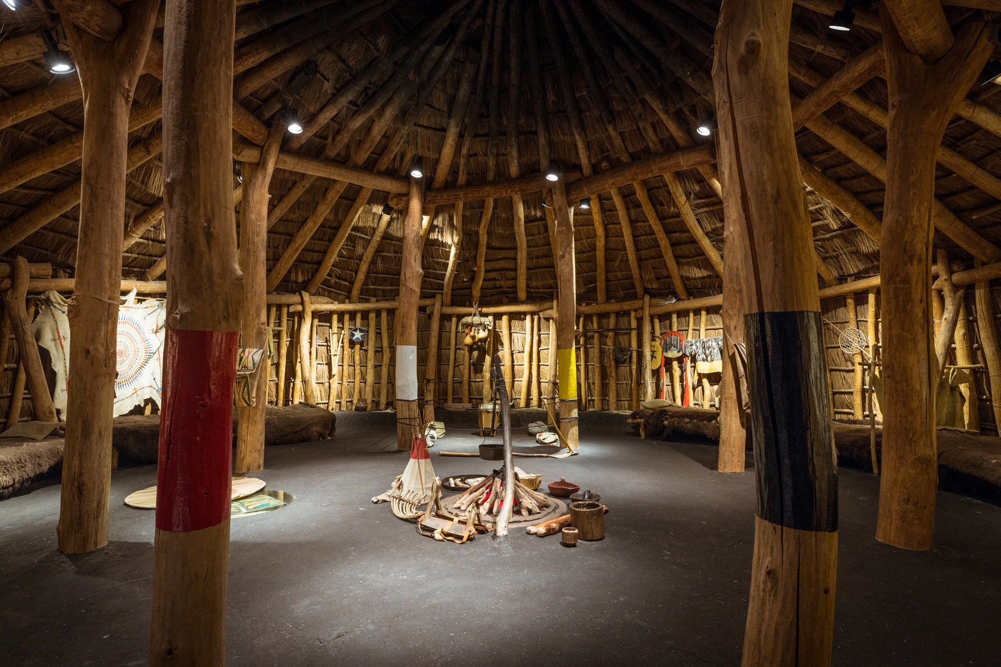 Terrific Pawnee Earth Lodge Field Museum Download Free Architecture Designs Embacsunscenecom