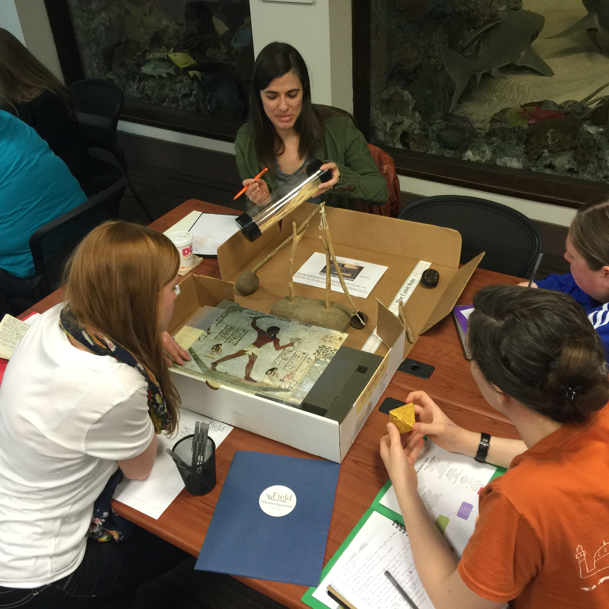 Investigating ArtiFACTs: Social Studies Professional Development at The Field