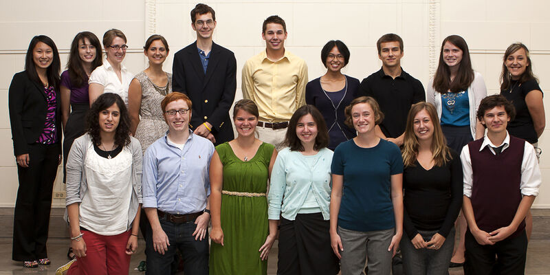2010 REU Symposium Group Photo