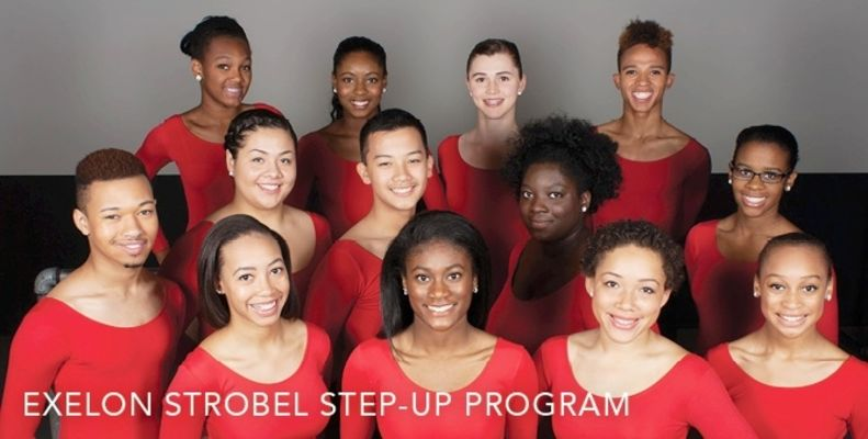 Joffrey Ballet's Exelon Strobel Step Up Program