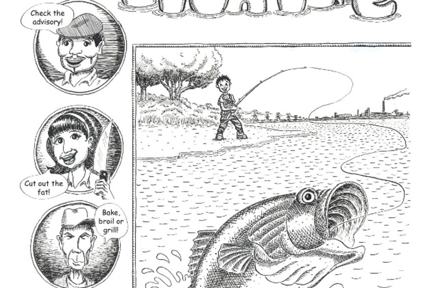 Science Action publishes comic book on fishing and