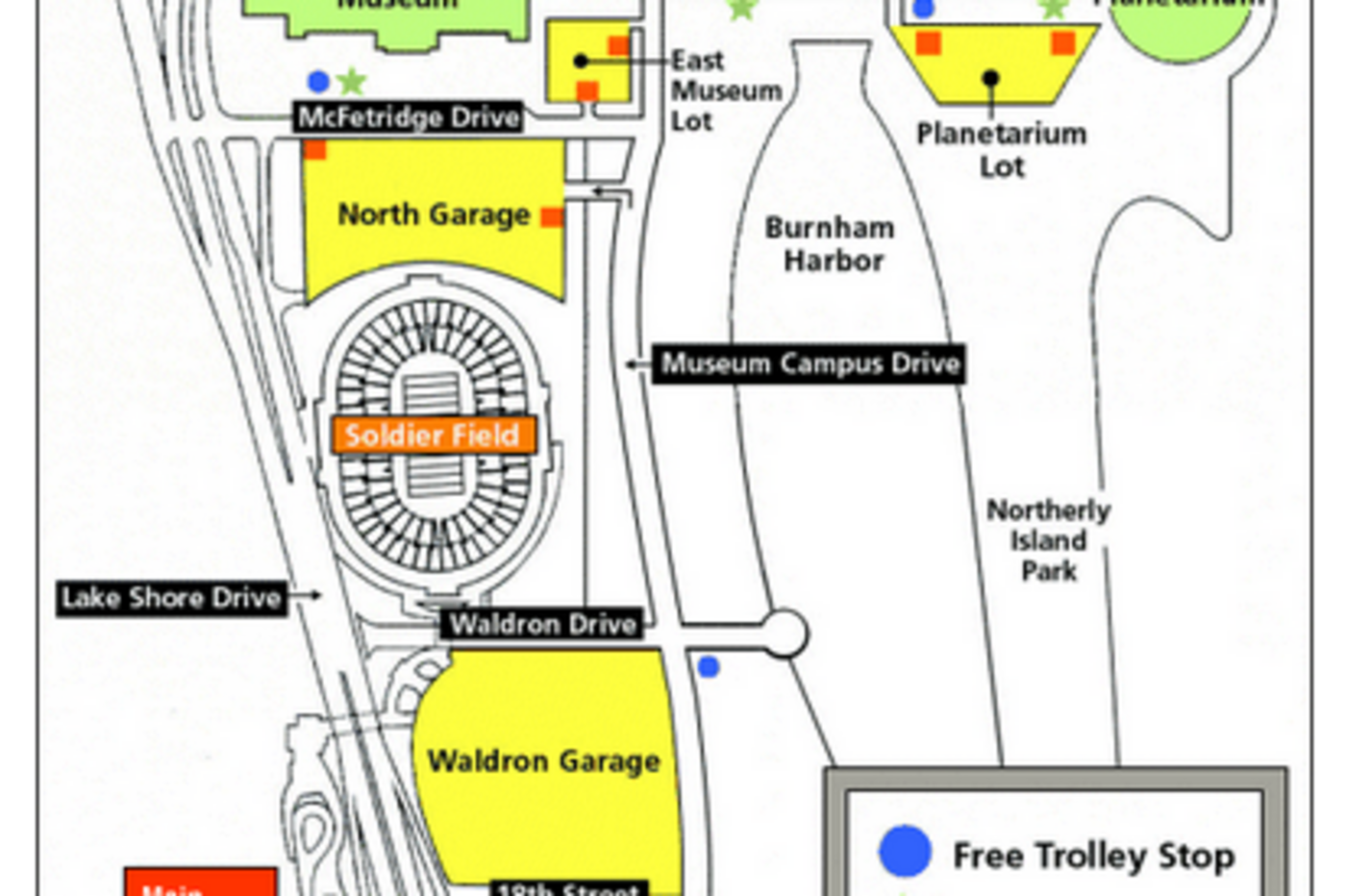 Map of the Museum Campus