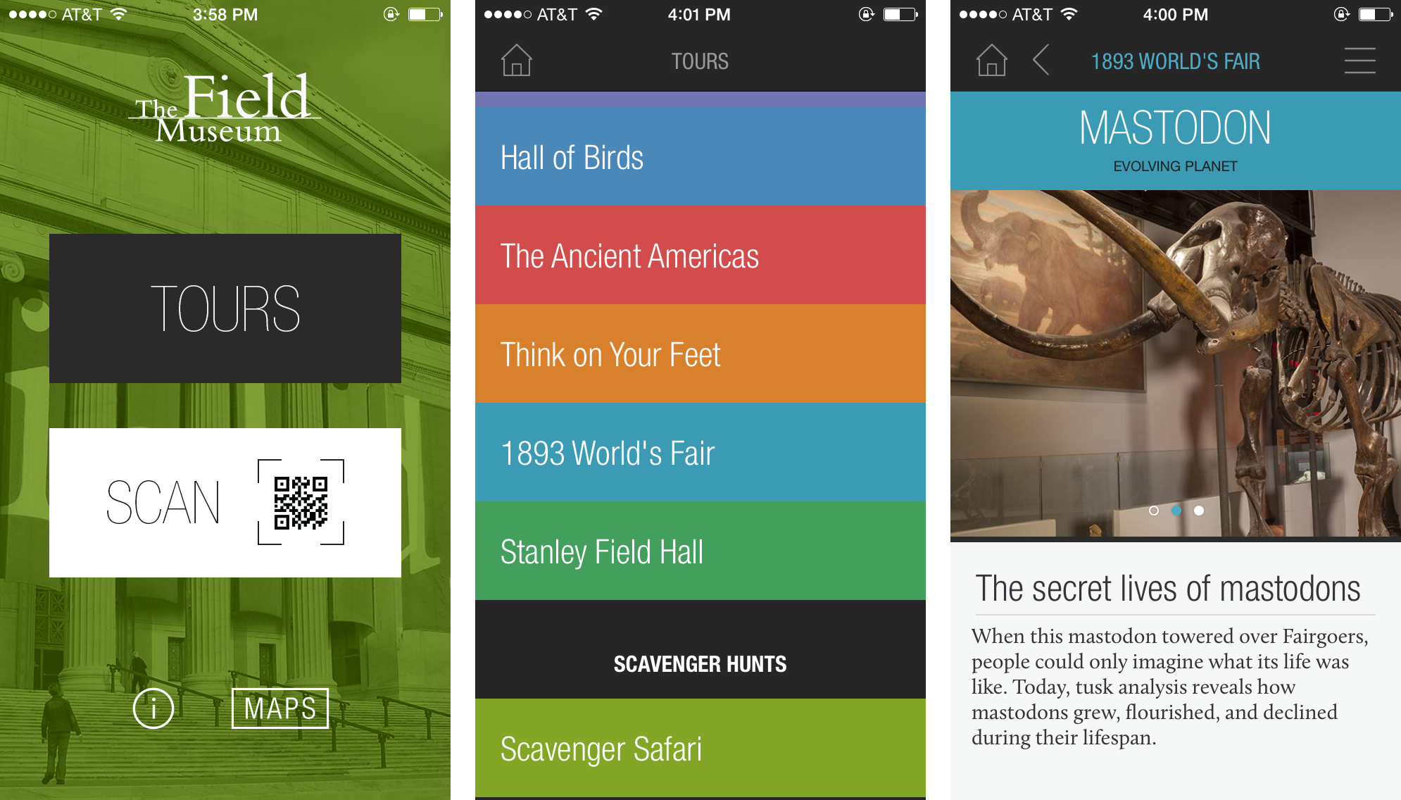 Tours App The Field Museum - Chicago map app